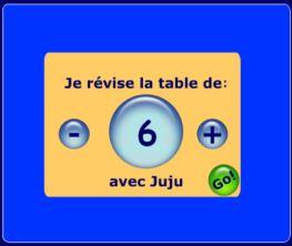 apprendre les tables de multiplications