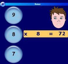 jeux pour apprendre les tables de multiplication